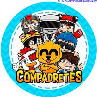 Kit Imprimible Los Compas Descarga Gratis