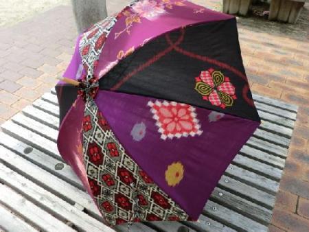 着物 リメイク 小物 和傘 傘
