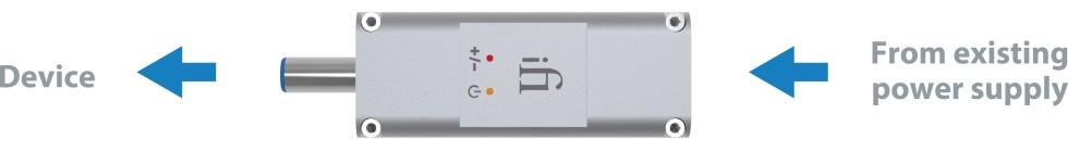 ifi audio dcipurifier dc ip logo