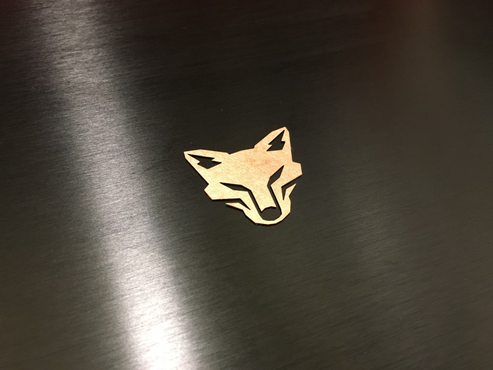 Kitsune Tuned Edition Copper Badge