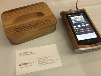 Echo Box - very suprising little DAP - I have one on order! love it!