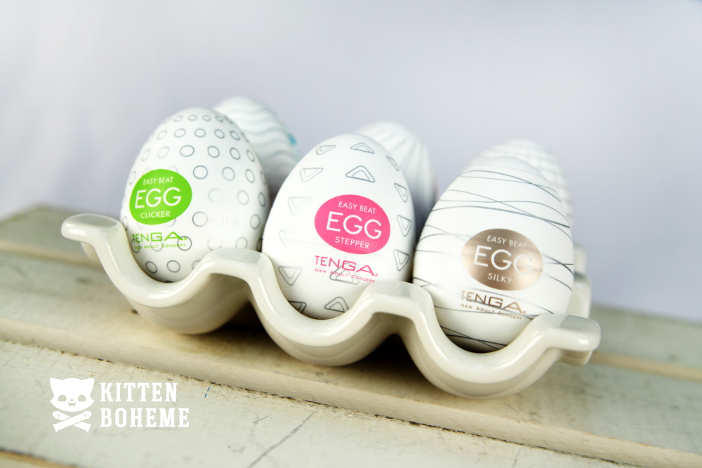 Tenga Eggs Masturbation Sleeves Sex Toy Review by KittenBoheme.com