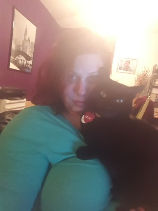 Cat & Kitten in their natural habitat.