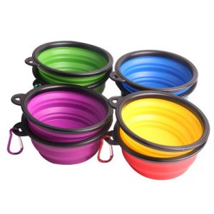 collapsible pet bowl for travel