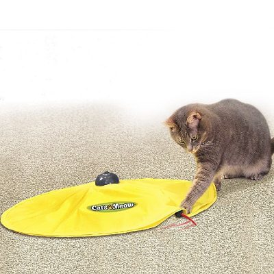 4 Speed Cat Toy Fabric Undercover Mouse
