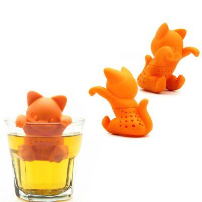 Silicone Cat Tea Infuser