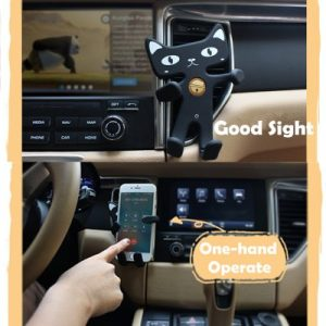 Cat Phone Holder for Car and Desk