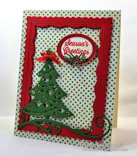KC Impression Obsession Cutout Christmas Tree 2 right