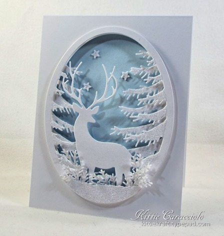 KC Memory Box Grand Stag Oval Frame 1 right