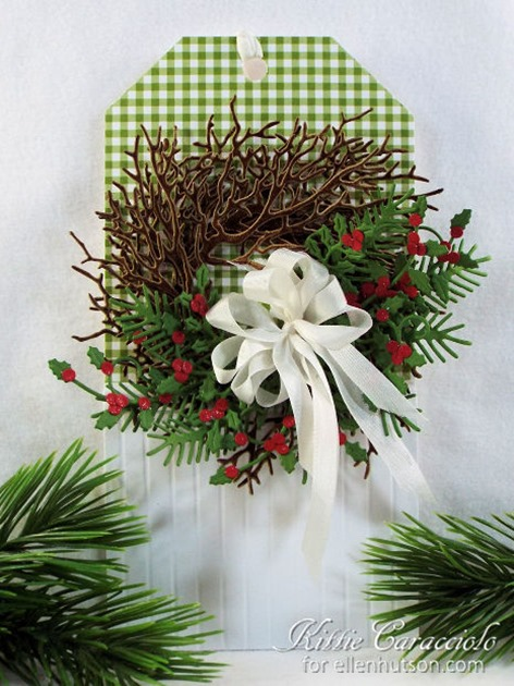 KC Impression Obsession Wide Tree Wreath