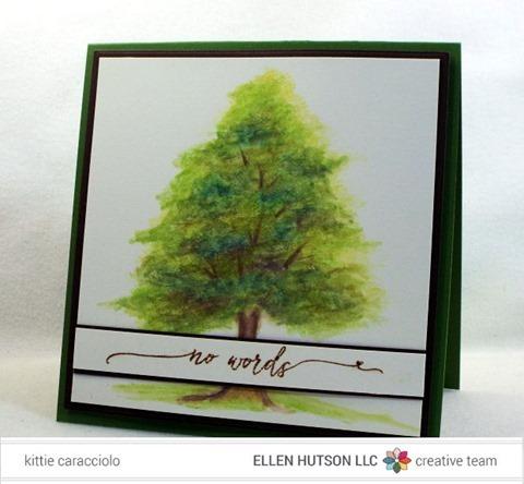KC Watercolor Pencil Tree  1