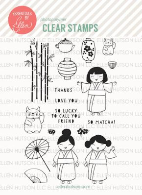Asian Stamped Images by Julie
