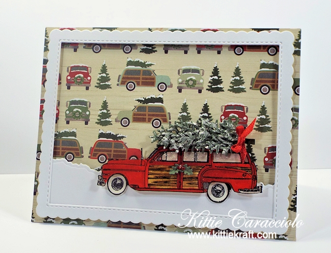 Come see how I made this Woody and Christmas tree card.