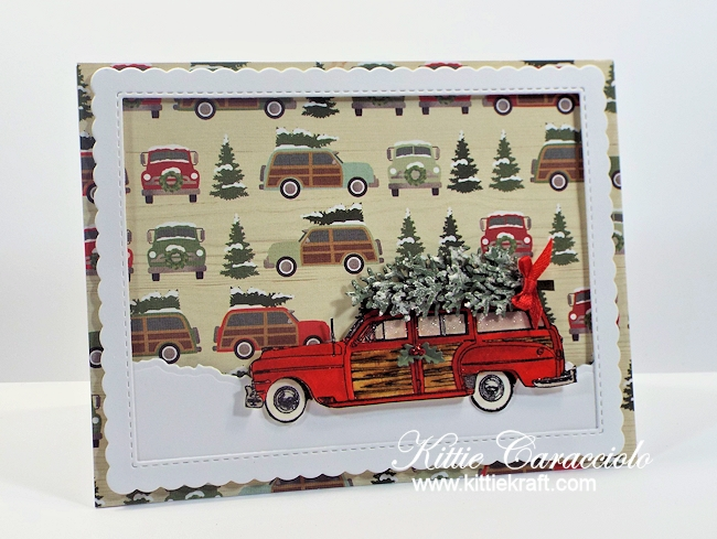 Come see how I made this festive Woody and Christmas tree card.