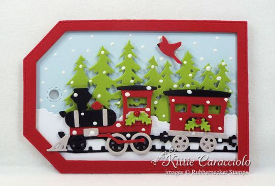 Come over to my blog to see how I made fun die cut gift tags.