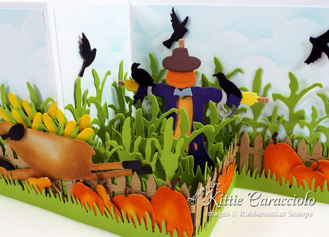 Come check out how I made this scarecrow z fold box card.