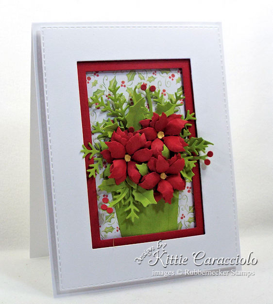 Come see my lovely poinsettia paper flowers basket.