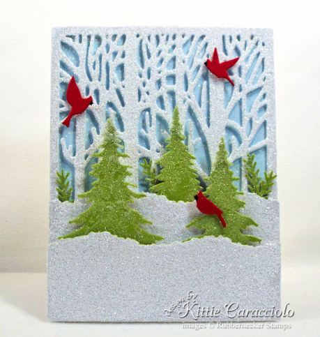Rubbernecker Stamps Blog Come-see-how-I-made-this-glittery-winter-scene-Christmas-card.