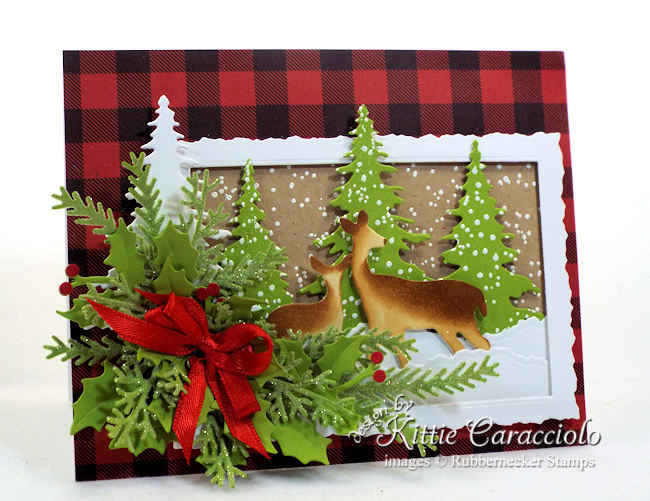 Rubbernecker Blog Come-see-how-I-made-this-mother-and-baby-deer-Christmas-card.