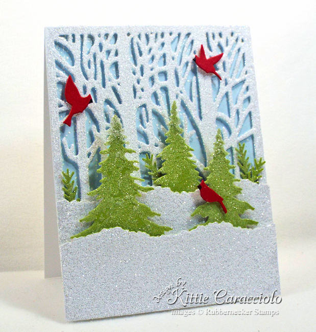 Rubbernecker Blog Come-see-how-I-made-this-sparkly-winter-scene-Christmas-card.