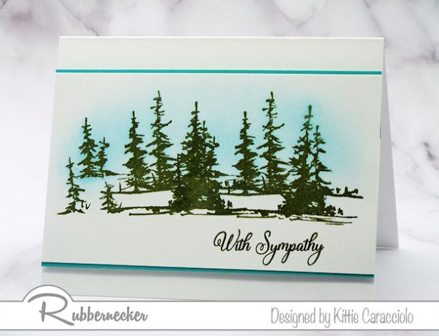 Today I am sharing an example of simple yet thoughtful handmade sympathy cards