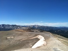 Mammoth volcanic summit