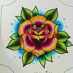 classic rose tattoo3