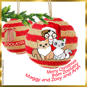 Merry Christmas from Zoolatry, 2015 [BADGE]