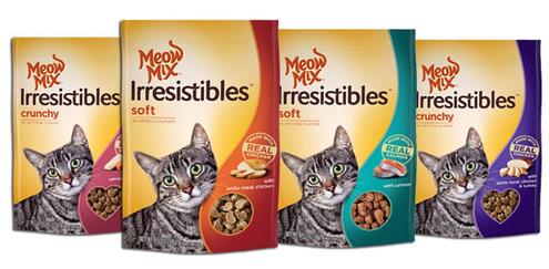 Meow Mix Irrisitibles