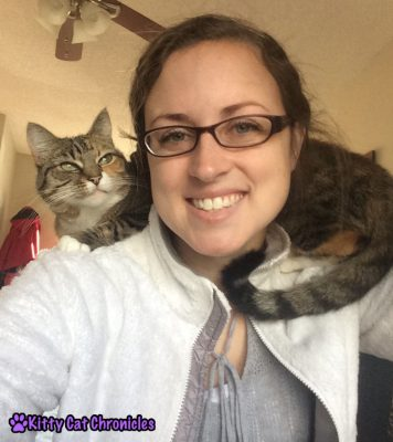 The Love Languages of Cats: Delilah on my Shoulders