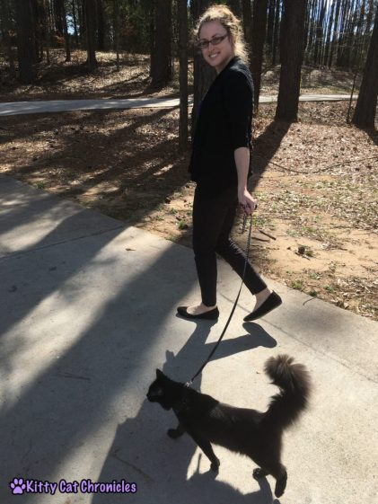 Kylo Walks on the Leash with Me - Impromptu Adventure