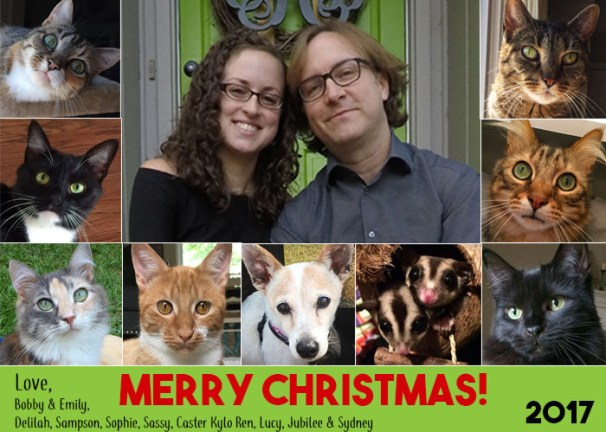 Merry Christmas from the KCC Gang - 2017