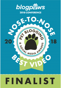 BlogPaws Nose-to-Nose Awards Finalist - Best Video