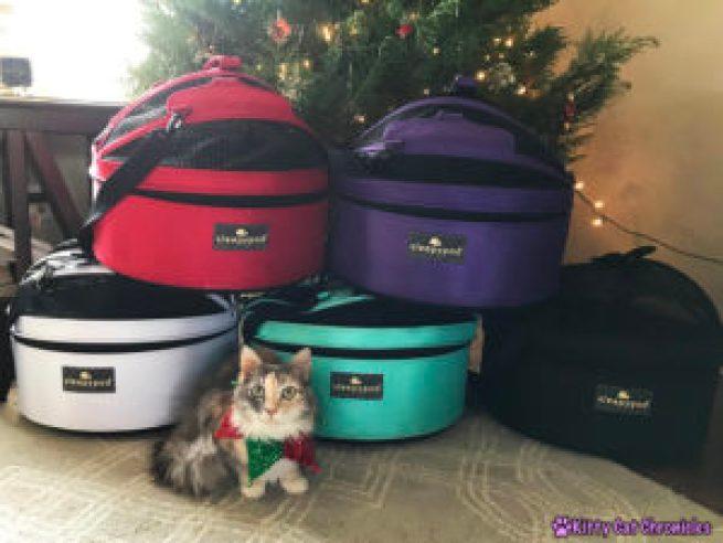 Why We Love the Sleepypod Mobile Pet Bed + a Holiday Giveaway! - Sleepypod Christmas Tree!