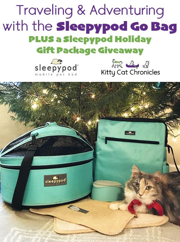 Traveling & Adventuring with the Sleepypod Go Bag - Sleepypod Giveaway