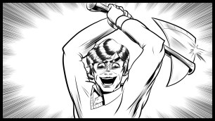 Blood Shed storyboard panel 4 by Andy W Clift