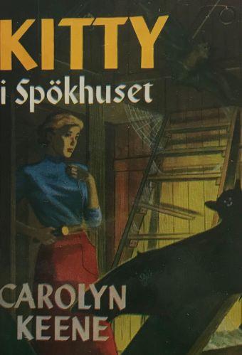 """Bokomslaget till """"Kitty i Spökhuset"""""""