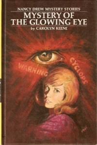 Mystery of the glowing eye