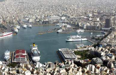The Harbour of Piraeus
