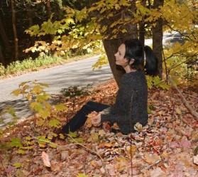 Fall fashion outside