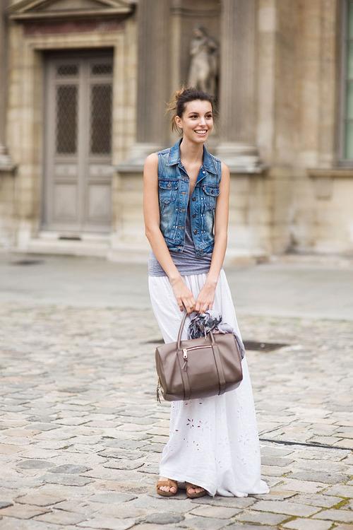 5 тенденций повседневной одежды лета 2012 —макси-юбки
