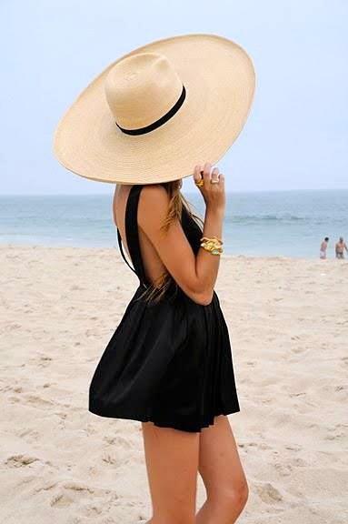 Пляжный стиль одежды 2012 — Маленькое чёрное платье