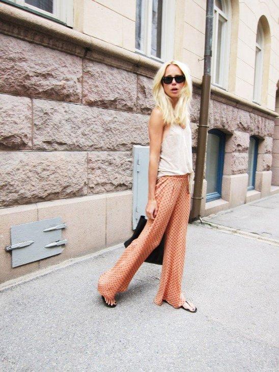 5 тенденций повседневной одежды лета 2012 —свободные брюки