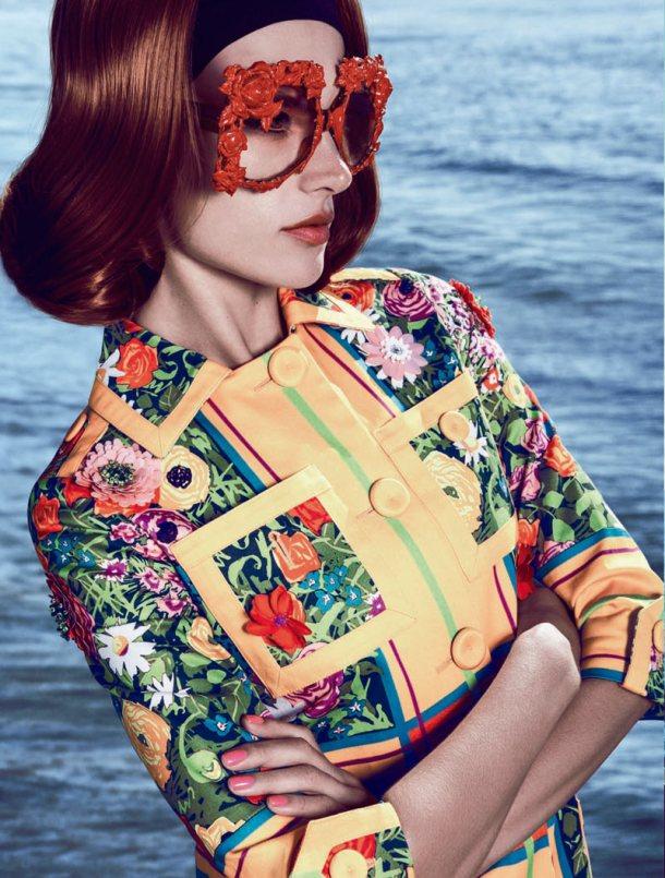 5 - Модные тенденции очки 2013 года - декорированная оправа