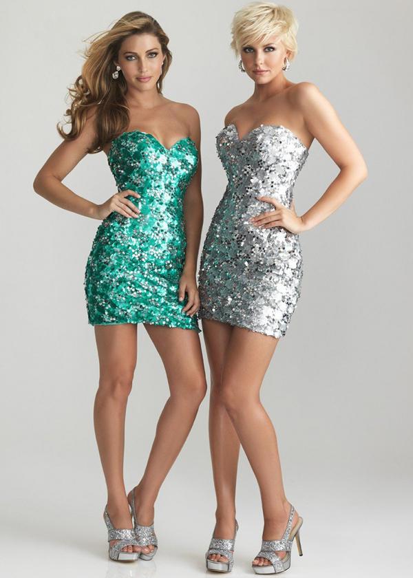 Модные платья для выпускного 2013 - Короткое и дерзкое