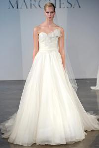 Подборка свадебных платьев от Marchesa - модная свадьба сезона весна 2013 - 20