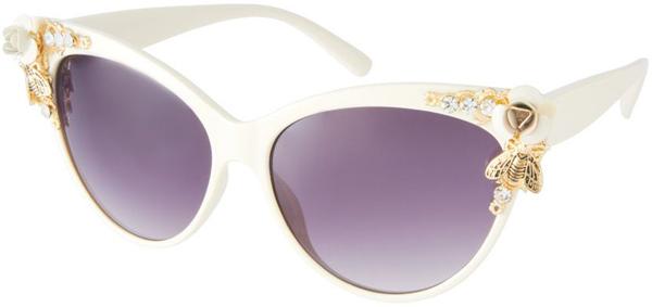 Солнцезащитные очки с цветами и насекомыми - Солнцезащитные очки - тенденции модного декора 2013