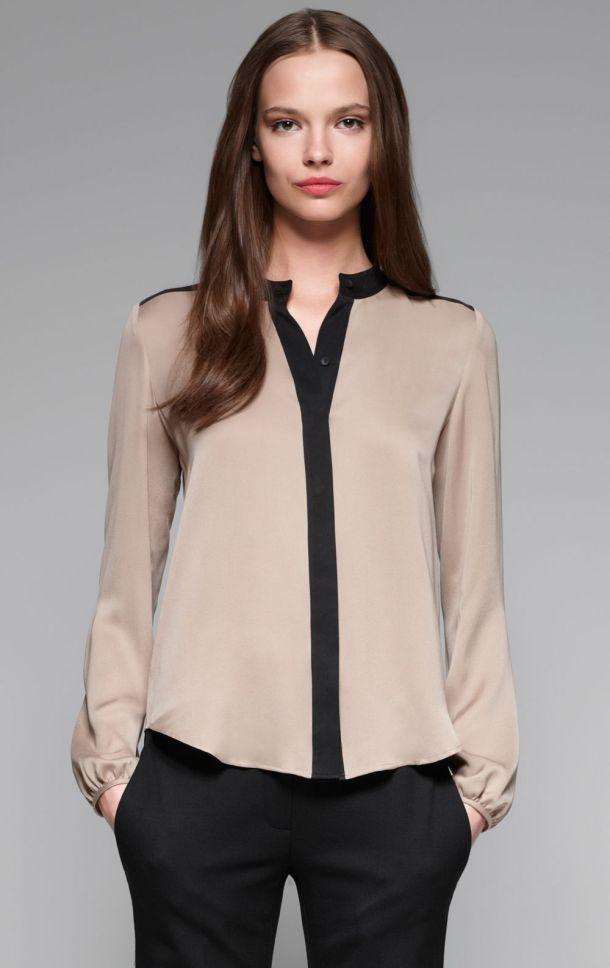 Строгие брюки и блузка - Что делать когда нечего надеть - 9 советов по выбору одежды