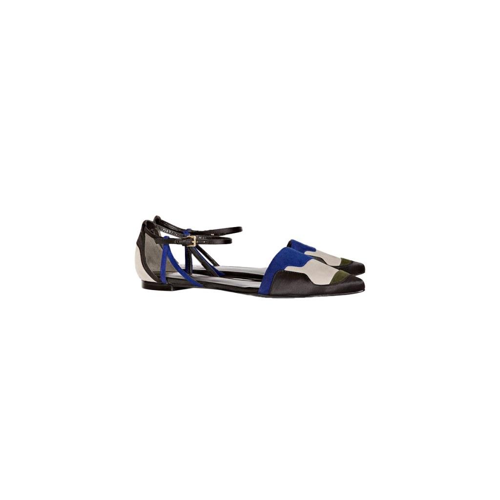 Весенняя тенденция 2013 лоскутная одежда и обувь - Босоножки Reiss