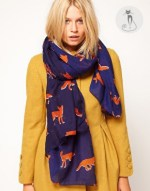 4 - Как носить шарфы с узором - На случай холодов